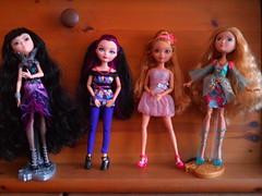 Better than Barbie (Just a Nobody) Tags: toys switch high model doll body supermodel ella miri super queen after simba raven ever fashiondoll mattel juls ashlynn