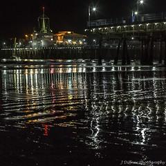 IMG_7373 (J Diffner) Tags: ocean california beach night reflections pier pacific santamonica