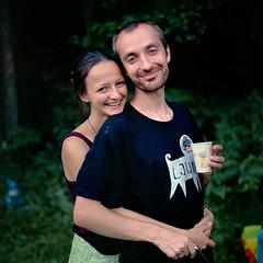 Алена и Лёша (mafh) Tags: bronica portra 400vc ps80