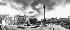 Panoramique Londres trafalgar square (tmoreau37) Tags: canon square trafalgar 7d londres monuments panoramique