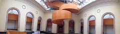 Art Gallery of Ontario (pano) (Mr.  Mark) Tags: toronto art museum architecture modern stairs spiral hall photo gallery pano stock panoramic ago frankgehry markboucher