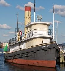 Steam Tug Baltimore (scattered1) Tags: light history bay harbor boat md iron ship antique maryland vessel baltimore stack steam inner tugboat tug hull chesapeake innerharbor chesapeakebay steamtug 2013