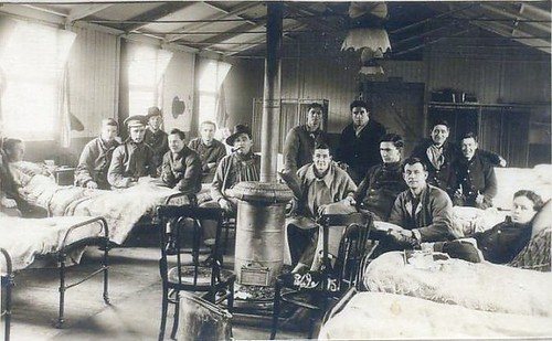 Flu Epidemic 1918 Spread by US Soldiers, From FlickrPhotos