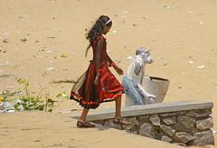 Kollam_beach_5954 (Manohar_Auroville) Tags: girls sea india beach beauty temple dam kerala mandala varkala hindu beauties kollam backwaters manohar luigifedele