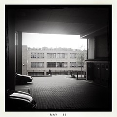 Somewhere in Purley (IAmGSPhotography) Tags: family home spring families flats carpark purley iamgsphotography