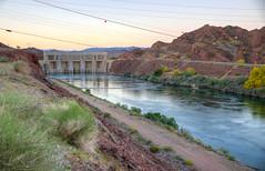 Parker Dam, Arizona (ap0013) Tags: sunset arizona river colorado dam az coloradoriver parker ariz parkerdam parkerdamarizona parkerdamaz
