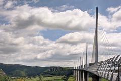 Viaduc de Millau_5064 (lizard.land) Tags: nikon viaduct shroud tarn a75 hdr millau viaduc aveyron hauban d7100 hdrenfrancais causselarzac causserouge pontdesrecords