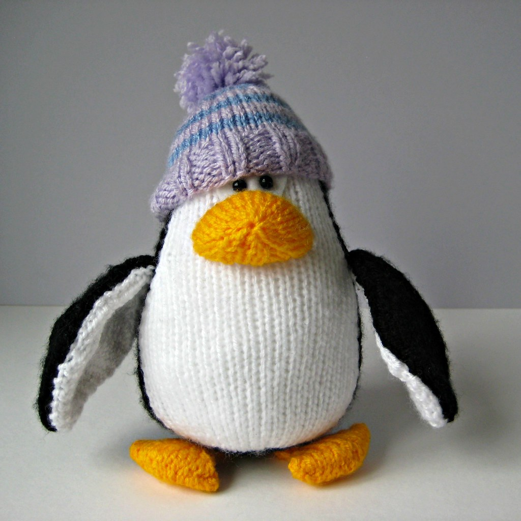 The worlds best photos of knits and penguins flickr hive mind bobble and bubble penguins knitting patterns by amanda berry tags christmas xmas white bankloansurffo Images