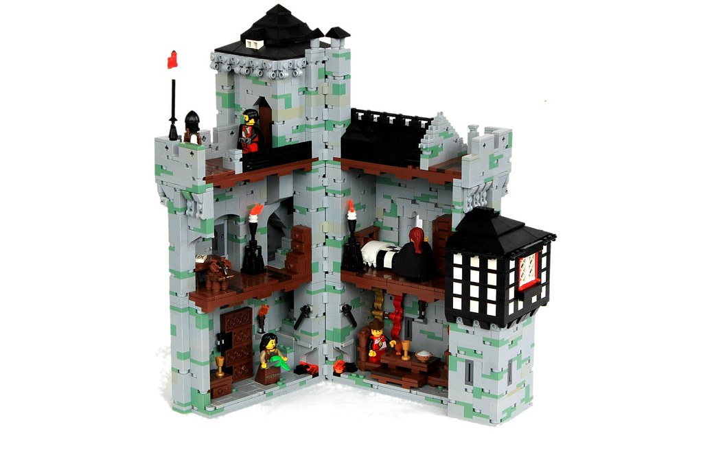 The world 39 s best photos of castle and tudor flickr hive mind - Lego house interior ...