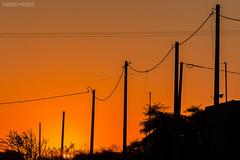 Atardecer infinito (ezequielandresmiraglia) Tags: atardecer cielo calle postes