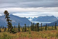 081616 - View from the Glenn Hwy (Nathan A) Tags: alaska ak chugach nature scenery outdoors outside glacial glacier ice