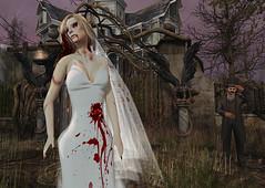 SAS Zombie Bride (MISS V VENEZUELA 2014MissVeroModero2013) Tags: sas saschasdesigns halloween zombie skull calavera