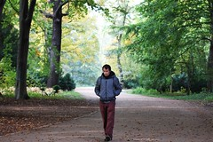 Walk in the park (Chris loves photography) Tags: selfportrait diary2016 autumn walk park berlin tiergarten
