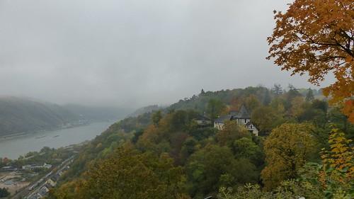 Blick Rhein und Kaup von der Schönburg aus