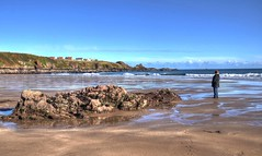 The beach at Coldingham, Scottish Borders (Baz Richardson (trying to catch up)) Tags: scotland coldingham coldinghamsands sandybeaches beaches coast rocks scottishborders berwickshire