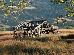 Old Barn Shell, Mormon Row - Grand Tetons National Park, Wyoming (danjdavis) Tags: mormonrow grandtetonsnationalpark nationalpark wyoming barn oldbarn barnshell