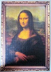 Mona Lisa (pefkosmad) Tags: monalisa lagioconda leonardodavinci davinci lisagherardini portrait art painting oil jigsaw puzzle leisure pastime hobby
