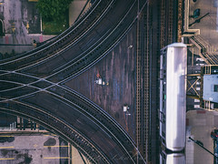 "The ""L"" (Zouhair Lhaloui) Tags: thel ltrain cta train loop chicagoloop city urban explore discover usa windicity secondcity track zouhairlhaloui zlphotography 2016 aerialphotography aerial illinois ville outdoor travel"