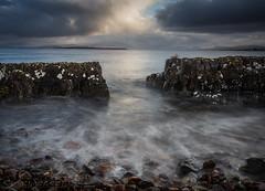 Mind the Gap (EXPLORED) (SkyeWeasel) Tags: scotland skye broadford broadfordbay seascape landscape longexposure ngc