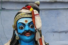 Mutthiah Kovil at Kochadai - Madurai (61) (Richard Collier - Wildlife and Travel Photography) Tags: india southernindia madurai kochadai mutthiahkovil hindu hindufigures hindutemple religion