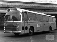 GMT didn't only run buses... (Museum of Transport Greater Manchester archive) Tags: museum transport cheetham manchester wwwgmtscouk gmts bus buses museumoftransport gmtscollection greatermanchestertransportsociety boylestreet cheethamhill m88uw leyland leopard ecw easterncoachworks 81 hne641n gmt gmpte coach charlesstreet stockport om