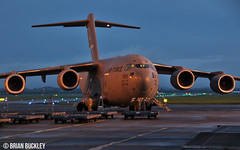 """""""rch352"""" usaf dover c-17a 07-7169 at shannon this morning 15/10/16. (FQ350BB (brian buckley)) Tags: usaf c17a einn dover 077169"""