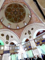 Konya - Mevlana Turbesi, shrine interior, dome (damiandude) Tags: rumi dervish sufi