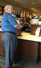 Starbucks (seanbirm) Tags: starbucks quincyil adamscounty illinois prick itsallaboutme baldman coffe