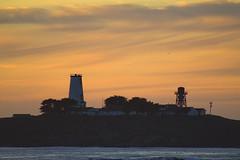 Piedras Blancas Light Station sunset (BDFri2012) Tags: piedrasblancaslightstation lighthouse sunset pacificocean pacificcoasthighway clouds ocean coastline coast sansimeon cambria california californiacoast ca water landscape outside