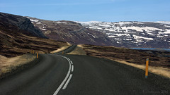 there's always the promise of yet another road (lunaryuna) Tags: iceland northwesticeland westfjords landscape coast fjord mountains mountainrange road lonesomeroad nature beauty spring season seasonalchange journey voyage roundtrip ointheroad travel lunaryuna