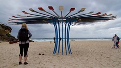 In Awe - Rebecca Rose (New Zealand) (Val in Sydney) Tags: sculpture sculpturebythesea australia australie nsw