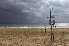 Platja del Bogatell (magomu) Tags: playa platja barcelon bcn beach bogatell strom tormenta