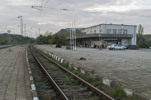 Beloslav railway station, 08.10.2014.