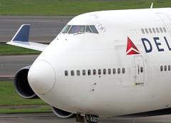 Delta                                  Boeing 747                                                 N667US (Flame1958) Tags: delta deltaairlines deltab747 boeing747 b747 747 jumbojet tokyo narita tokyonarita 121016 1016 2016 n667us 0970