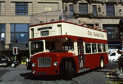 12 Mac Tours (841 SHW) Waverley Aug00 (Copy) (focus- transport) Tags: bristol leyland open toppers