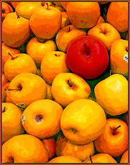(Cliff Michaels) Tags: iphone6 photoshop pse9 apples fruit
