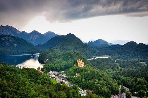 Il castello di Hohenschwangau