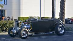1932 Ford High Boy Roadster hot rod (Pat Durkin OC) Tags: 1932ford roadster hotrod highboy 454bigblockchevy wirewheels