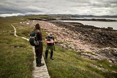 Handa (413) (Danni Thompson) Tags: 2016 august boardwalk boulderbay coast conservation handa island rangers reserve scotland scottishwildlifetrust survey sven tom uk