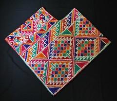 Quechquemitl Cape Nahua Hidalgo Mexico (Teyacapan) Tags: textiles mexican hidalgo nahua capes quechquemitl embroidered sanfranciscoatotonilco clothing