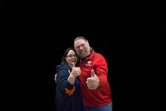 chicago pop culture con. november 2016 (timp37) Tags: chicago pop culture con november 2016 illinois nat nathalie jim duggan st charles ho thumbs up wrestler hacksaw
