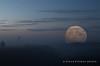 Supermoon over Roydon (Outdoorjive) Tags: other desktop sunsetsunrise flikr mistfog event events moon places uk eastanglia norfolk