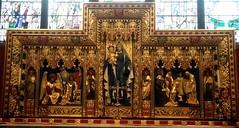 [46971] Chesterfield : Reredos (Budby) Tags: chesterfield derbyshire church altar reredos