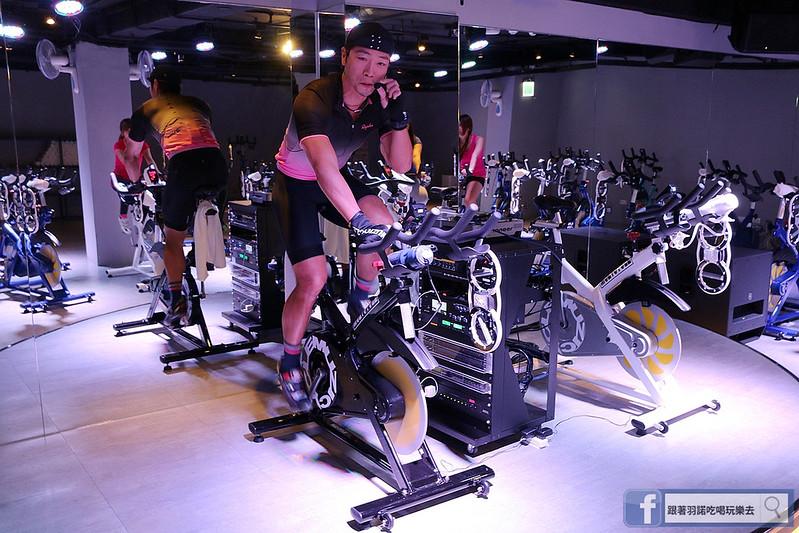 台北松山南京復興站健身房  MUZICYCLE 飛輪拳擊課程114