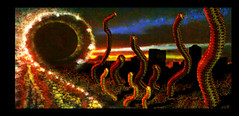 Surrealism- Radioactive Mutant Worms... (chazart7777) Tags: surreal surrealism abstract photomanipulation imagemanipulation gimp gimpuser scifi