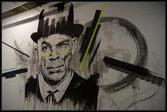 Samina Joao (Gramgroum) Tags: street art graffiti lisbonne lx factory couloir portrait samina ojo joao gau
