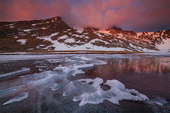 Summit Lake - Mount Evans, Colorado (Will Shieh) Tags: will shieh frozen lake alpine forest wilderness mountain snowcapped landscape summit mount evans idahosprings colorado co beautiful ice lightvision photography hiking water travel nature tranquility scenic