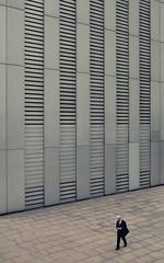 Tokyo 4088 (tokyoform) Tags: tokyo tokio  japo japn giappone nhtbn tquio           chrisjongkind tokyoform  japanese asia asian businessman salaryman    walking alone sozinho  person wall canon6d