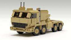 AHSVS (TheRookieBuilder) Tags: ahsvs transport logistic truck 8x8 military lego legodigitaldesigner ldd mecabricks blender render