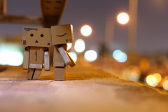 Danbo Love (karyll ♥) Tags: danbo danboard cute love photography kawaii kiss nightphotography